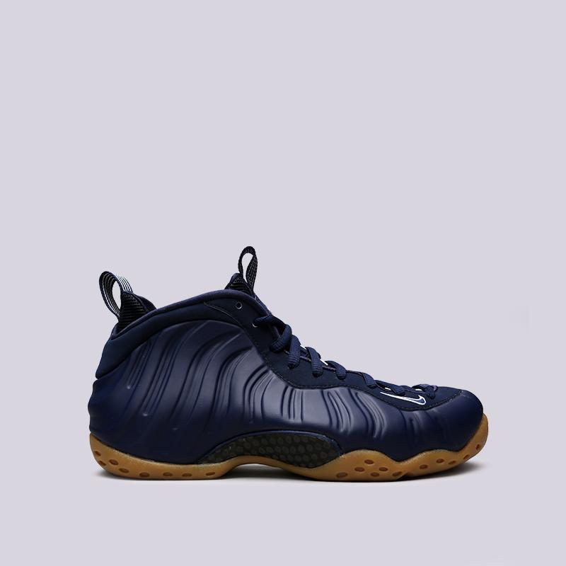 мужские синие  кроссовки nike air foamposite one 314996-405 - цена, описание, фото 1