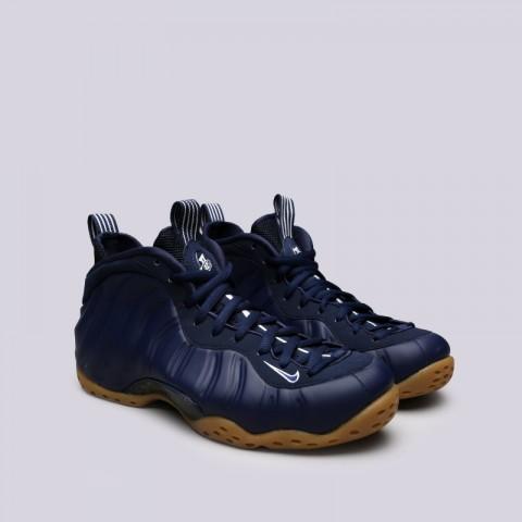 мужские синие  кроссовки nike air foamposite one 314996-405 - цена, описание, фото 2