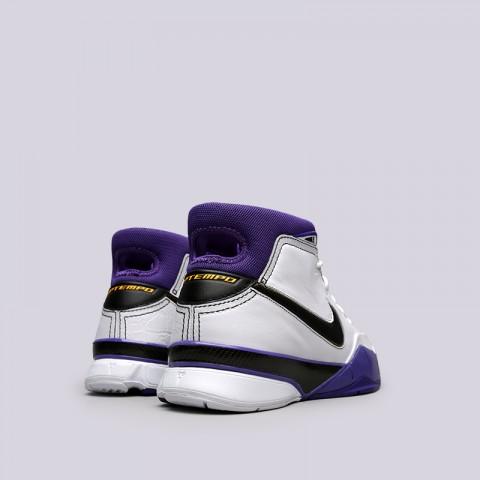 мужские белые  кроссовки nike kobe 1 protro AQ2728-105 - цена, описание, фото 4