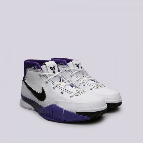мужские белые  кроссовки nike kobe 1 protro AQ2728-105 - цена, описание, фото 3