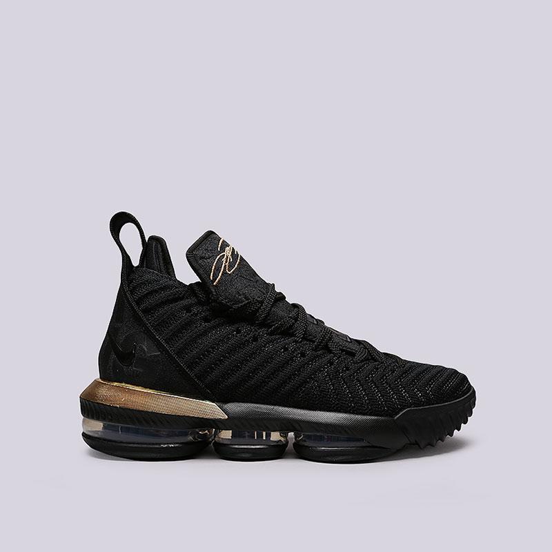 0b7d047d мужские черные кроссовки nike lebron 16 BQ5969-007 - цена, описание, фото 1
