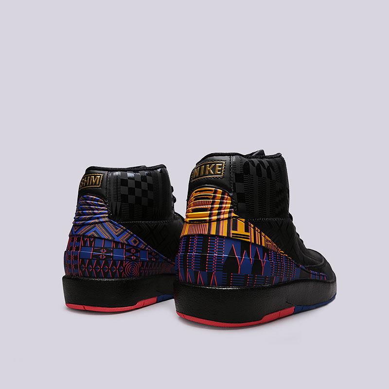 quality design 0f78c 27338 Мужские кроссовки 2 Retro BHM от Jordan (BQ7618-007) оригинал - купить по  цене 8990 руб. в интернет-магазине Streetball