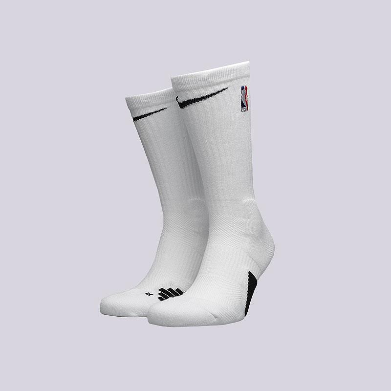 72cce1e1 мужские белые носки nike elite nba crew basketball socks SX7587-100 - цена,  описание