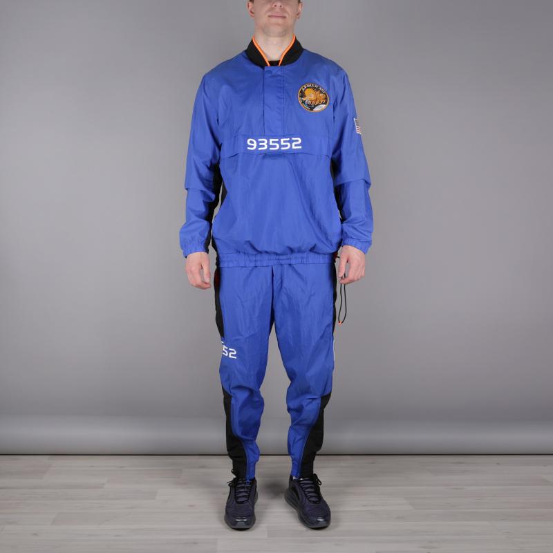 мужской синий  спортивный костюм nike pg nasa tracksuit CI6890-480 - цена, описание, фото 2