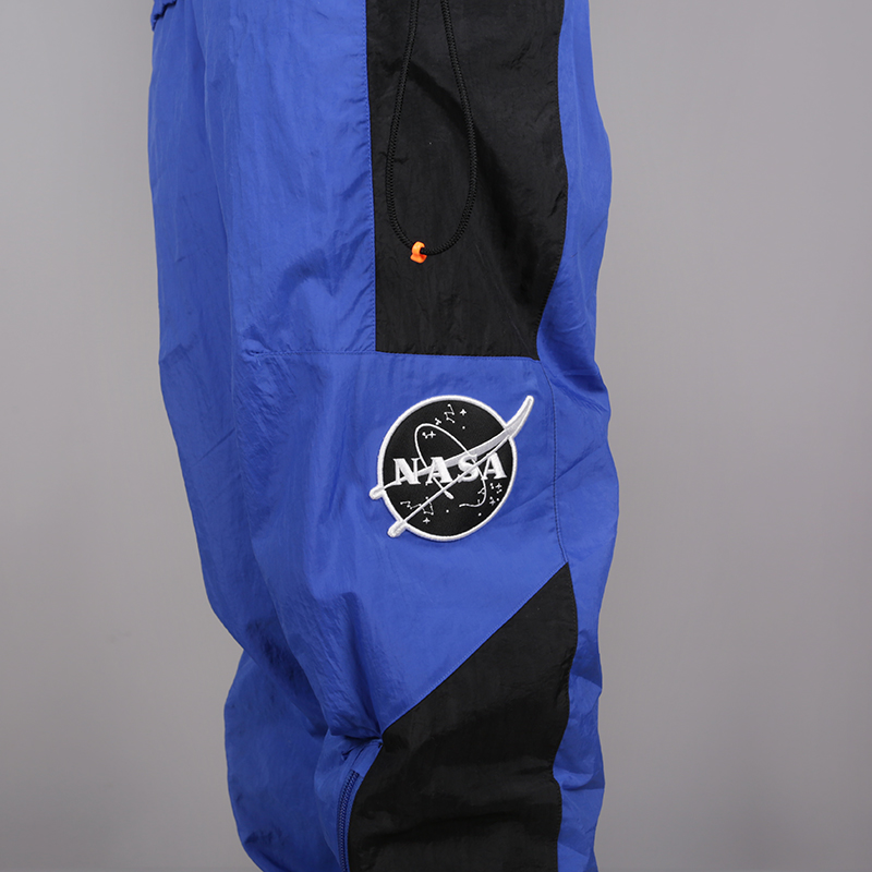 мужской синий  спортивный костюм nike pg nasa tracksuit CI6890-480 - цена, описание, фото 7