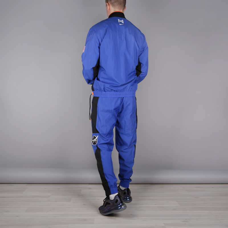 мужской синий  спортивный костюм nike pg nasa tracksuit CI6890-480 - цена, описание, фото 3