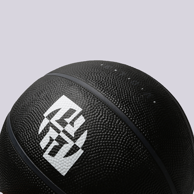 чёрный  мяч №7 adidas harden sig ball CW6787 - цена, описание, фото 2