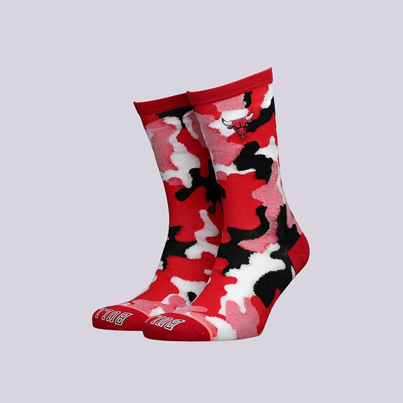 женские красные  носки stance bulls crew W515C18Bul-red - цена, описание, фото 1