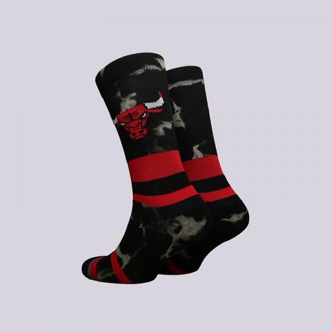 мужские чёрные  носки stance bulls acid wash M558C18BUL-red - цена, описание, фото 2
