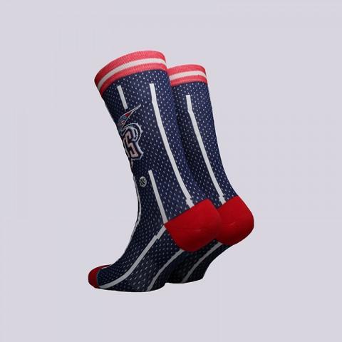 мужские синие  носки stance rockets 02 hwc M545C18YAH-NAVY - цена, описание, фото 2
