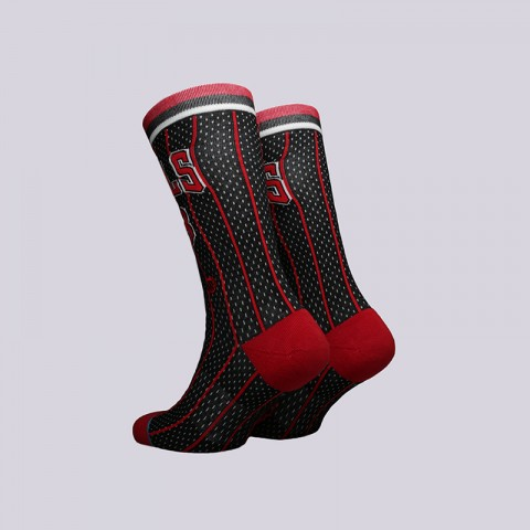 мужские чёрные  носки stance bulls 96 hwc M545C18PIH-Black - цена, описание, фото 2