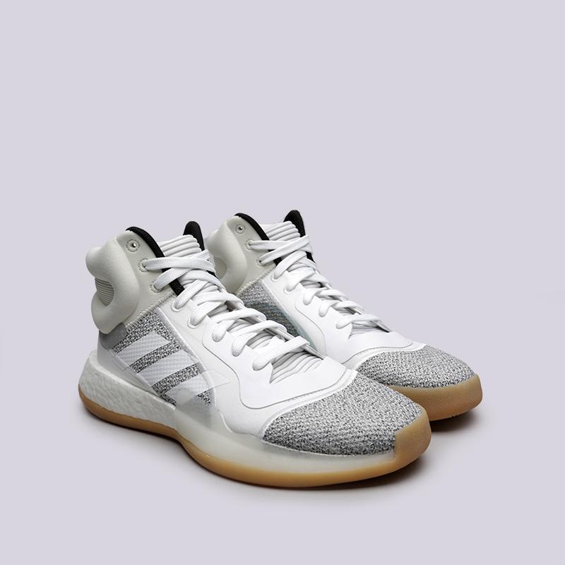 мужские белые  кроссовки adidas marquee boost BB9299 - цена, описание, фото 3