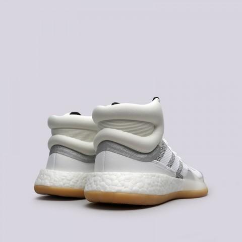 мужские белые  кроссовки adidas marquee boost BB9299 - цена, описание, фото 4