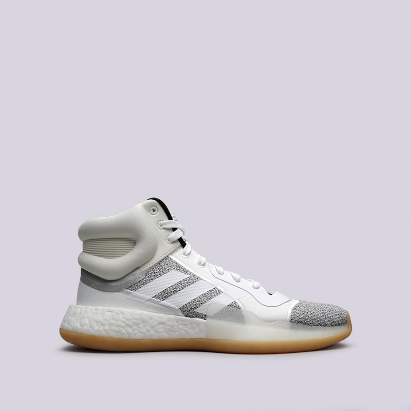 мужские белые  кроссовки adidas marquee boost BB9299 - цена, описание, фото 1