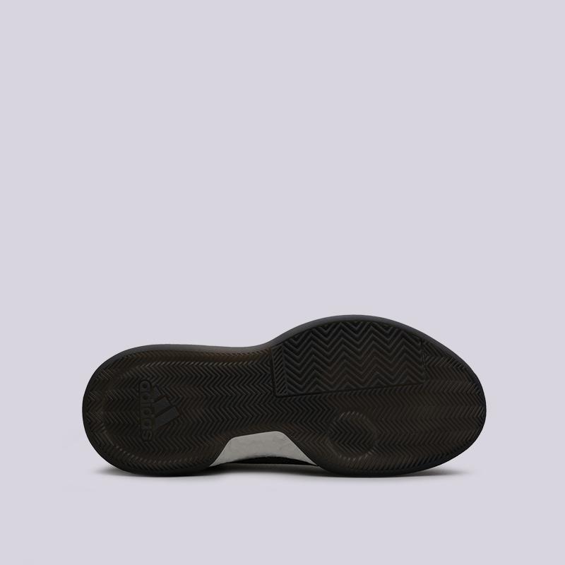 мужские чёрные  кроссовки adidas marquee boost low D96931 - цена, описание, фото 2