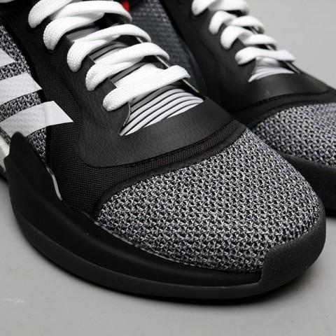 мужские чёрные  кроссовки adidas marquee boost low D96931 - цена, описание, фото 5