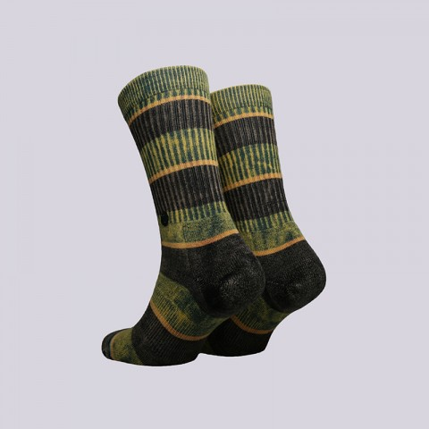 мужские зелёные  носки stance cord M556C18COR-black - цена, описание, фото 2