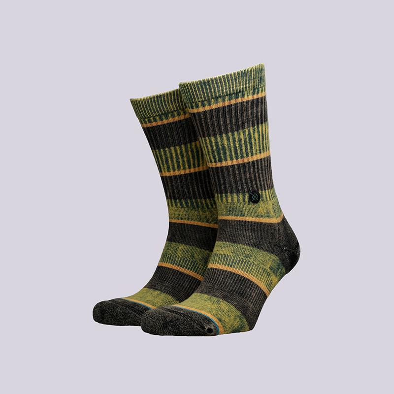 мужские зелёные  носки stance cord M556C18COR-black - цена, описание, фото 1