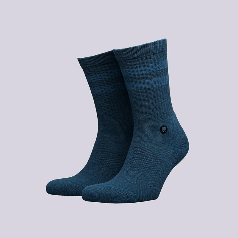 мужские синие  носки stance joven M556C17JOV-indigo - цена, описание, фото 1