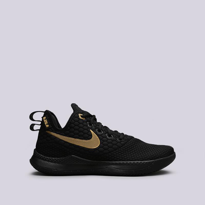 b30afd10 мужские чёрные кроссовки nike lebron witness iii AO4433-003 - цена,  описание, фото