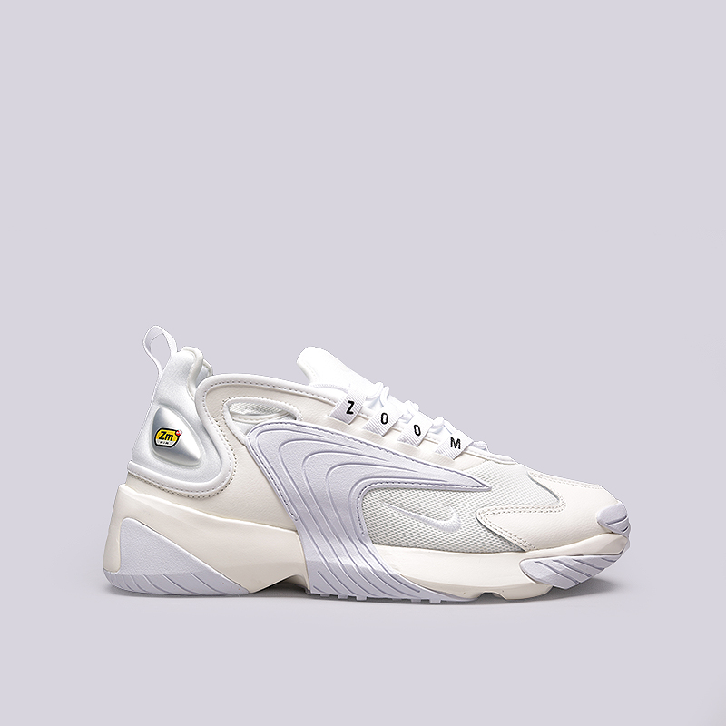 dc8673c48 мужские бежевые, сиреневые, белые кроссовки nike zoom 2k AO0269-100 - цена,