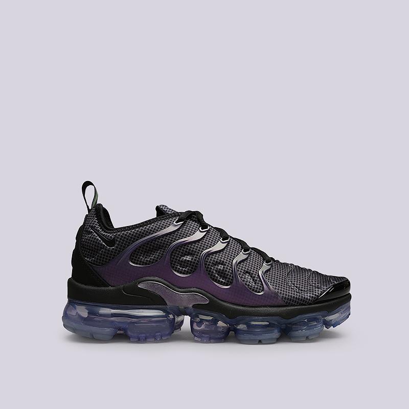 70eca0b5 мужские черные, фиолетовые кроссовки nike air vapormax plus 924453-014 -  цена, описание