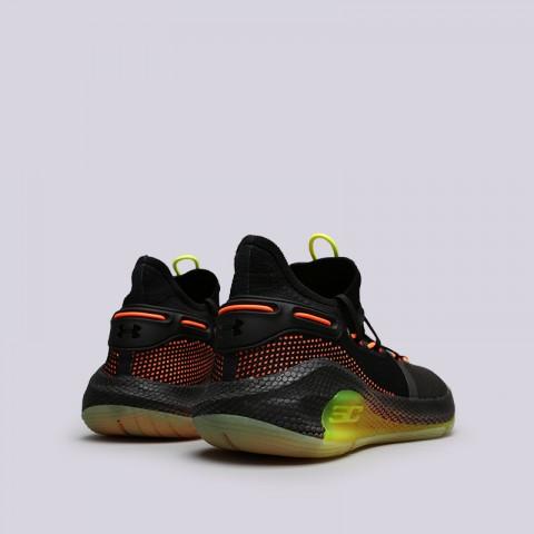 мужские чёрные  кроссовки under armour ua curry 6 3020612-004 - цена, описание, фото 4