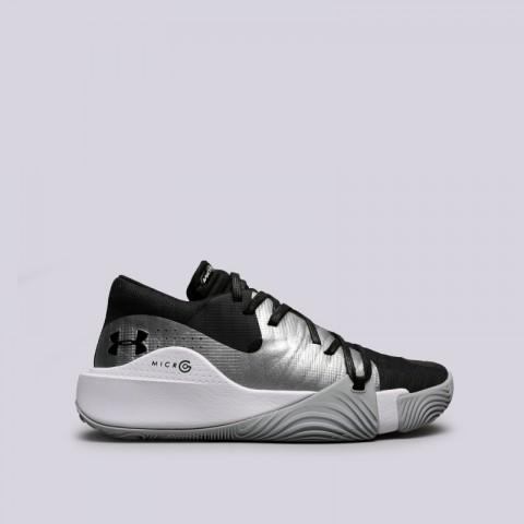 мужские чёрные  кроссовки under armour ua spawn low 3021263-001 - цена, описание, фото 1