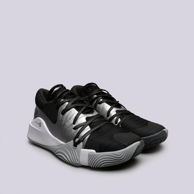 мужские чёрные  кроссовки under armour ua spawn low 3021263-001 - цена, описание, фото 3