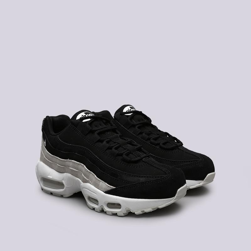 женские чёрные  кроссовки nike wmns air max 95 prm 807443-017 - цена, описание, фото 2