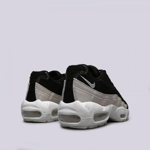 женские чёрные  кроссовки nike wmns air max 95 prm 807443-017 - цена, описание, фото 3