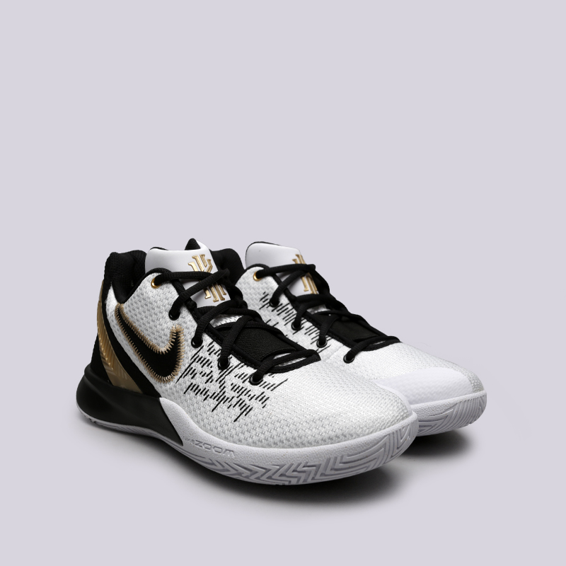 мужские белые  кроссовки nike kyrie flytrap ii AO4436-170 - цена, описание, фото 3