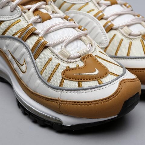 бежевые, коричневые  кроссовки nike wmns air max 98 AH6799-003 - цена, описание, фото 5