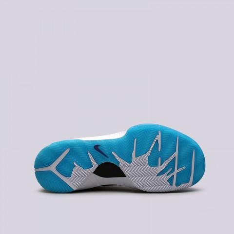мужские белые, синие  кроссовки nike kobe iv protro AV6339-100 - цена, описание, фото 2