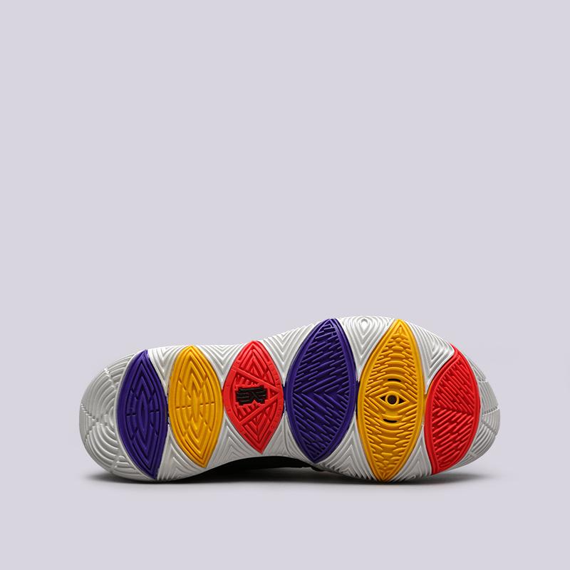 мужские чёрные  кроссовки nike kyrie 5 AO2918-010 - цена, описание, фото 2