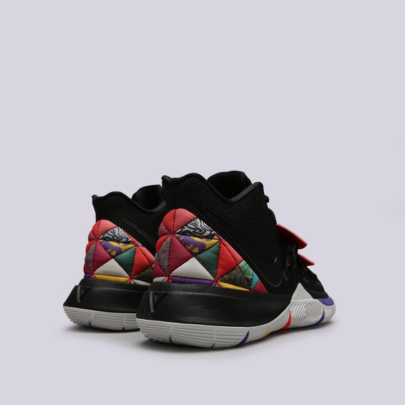 мужские чёрные  кроссовки nike kyrie 5 AO2918-010 - цена, описание, фото 4