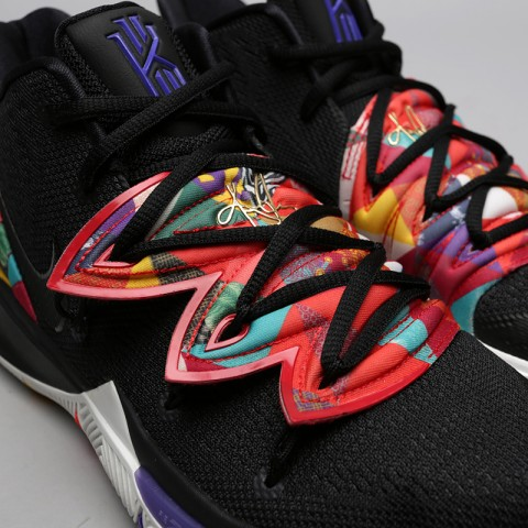 мужские чёрные  кроссовки nike kyrie 5 AO2918-010 - цена, описание, фото 5