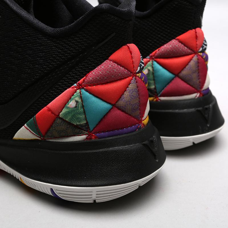 мужские чёрные  кроссовки nike kyrie 5 AO2918-010 - цена, описание, фото 6