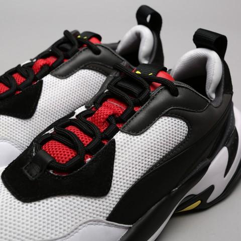 мужские чёрные, белые  кроссовки puma thunder spectra 36751607 - цена, описание, фото 5