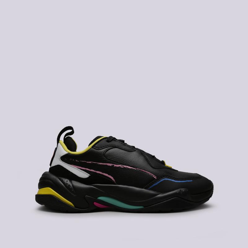 чёрные  кроссовки puma thunder bradley theodore 36939401 - цена, описание, фото 1