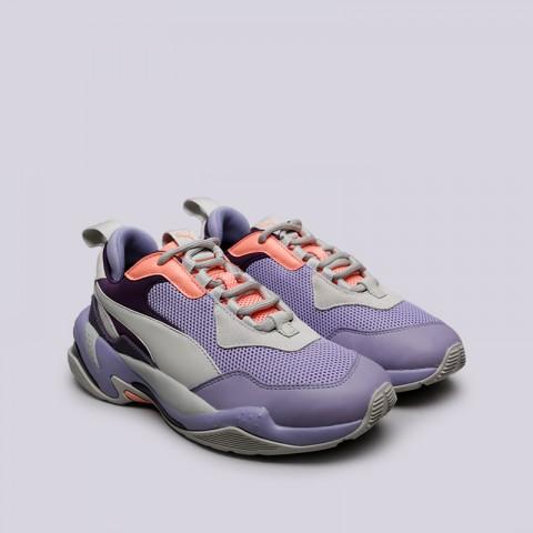 фиолетовые, серые  кроссовки puma thunder spectra 36751610 - цена, описание, фото 3