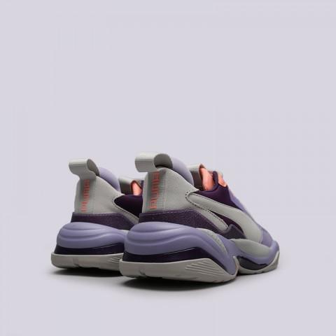 фиолетовые, серые  кроссовки puma thunder spectra 36751610 - цена, описание, фото 4