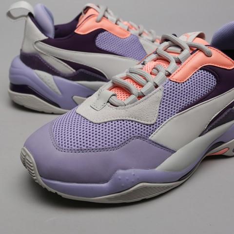 фиолетовые, серые  кроссовки puma thunder spectra 36751610 - цена, описание, фото 5
