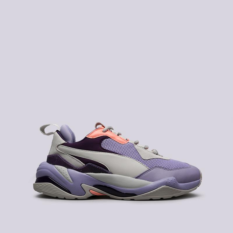 фиолетовые, серые  кроссовки puma thunder spectra 36751610 - цена, описание, фото 1