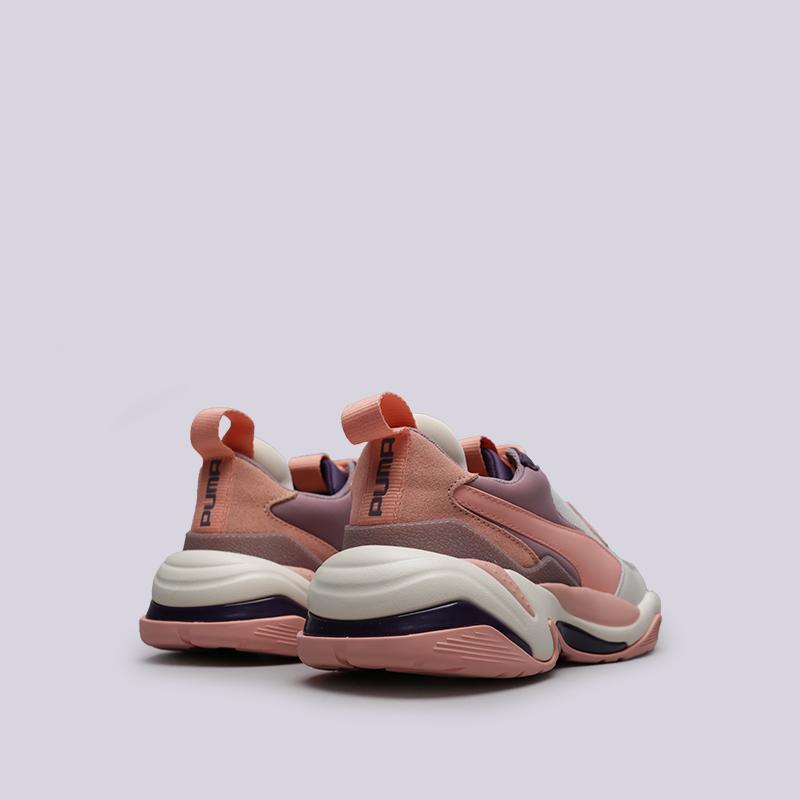 розовые  кроссовки puma thunder spectra 36751609 - цена, описание, фото 4