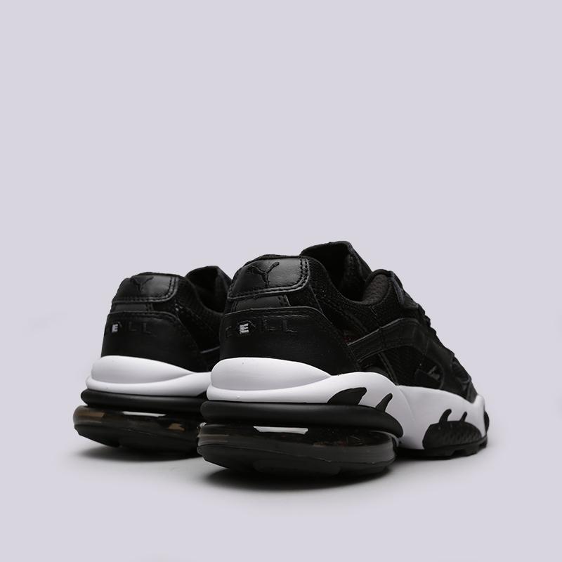чёрные  кроссовки puma cell venom reflective 36970101 - цена, описание, фото 4