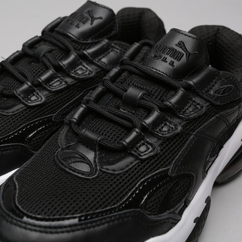 чёрные  кроссовки puma cell venom reflective 36970101 - цена, описание, фото 5