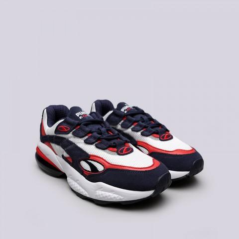 мужские белые, синие, красные  кроссовки puma cell venom 36935403 - цена, описание, фото 3