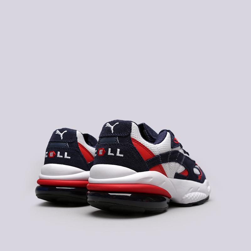 мужские белые, синие, красные  кроссовки puma cell venom 36935403 - цена, описание, фото 4