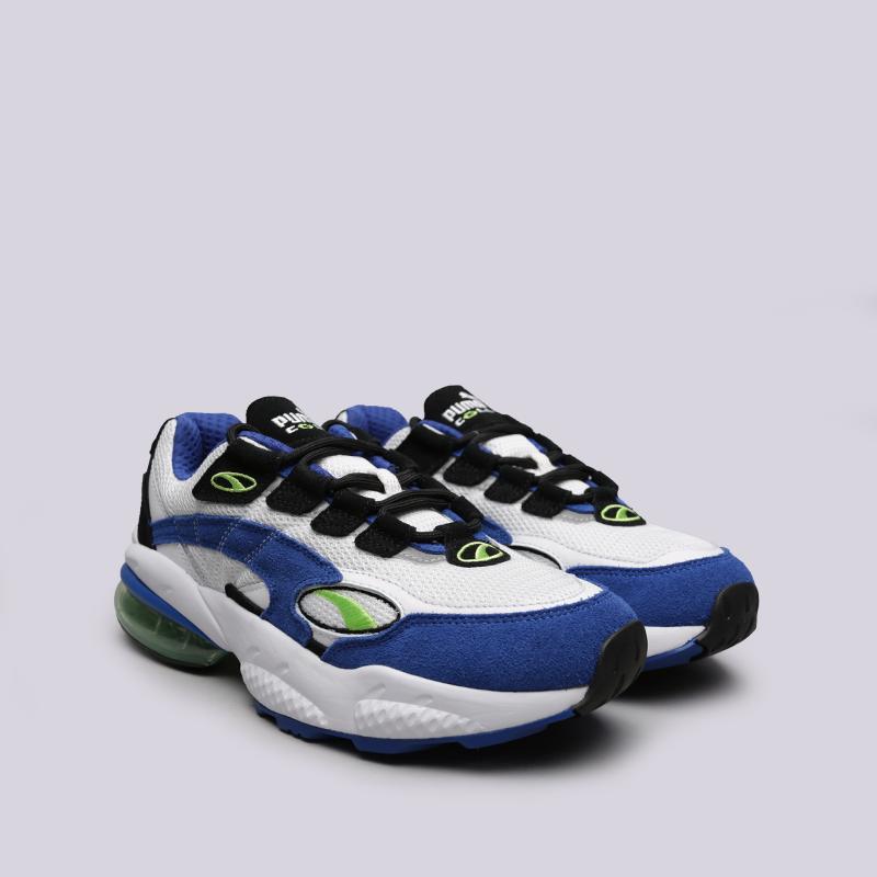 белые, синие  кроссовки puma cell venom 36935401 - цена, описание, фото 2